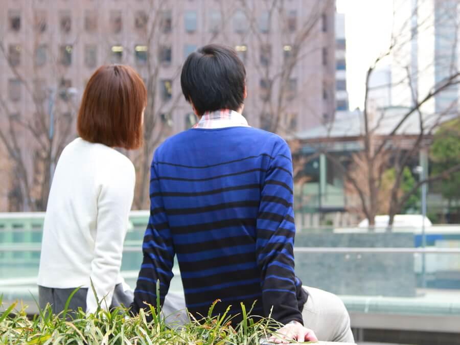 仲の良いカップル